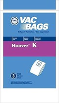 DVC Hoover Style K Vacuum Cleaner Bags Made in USA [ 27 Bags ] - $18.75