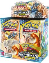 Pokemon Unbroken Bonds 9 Booster Pack Lot 1/4 Booster Box Pokemon TCG Su... - $34.95