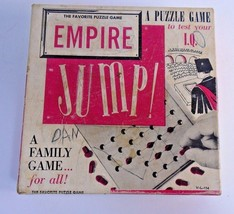 1950 Vintage Empire JUMP Game Empire Plastic Corp I.Q. puzzle test favorite - $9.49