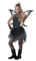 Mystical Fairy Halloween Costume Girl Child XL 12 - 14  Black - $48.84