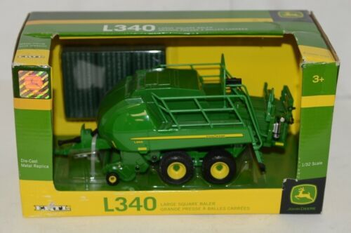 John Deere LP53351 Die Cast Metal Replica L340 Large Square Baler