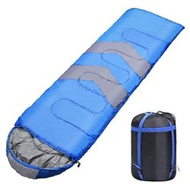 Syntrific Sleeping Bag with Compression Sack, Lightweight and (Small) - $29.17