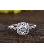 1.24 Ct Round Cut Diamond Anniversary Engagement Ring Bridal Solid Gold ... - $73.07