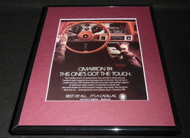 1984 Cadillac Cimarron 11x14 Framed ORIGINAL Vintage Advertisement - $32.36