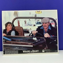 Lobby Card movie theater poster litho 1982 Wrong is Right Sean Connery B... - $24.70