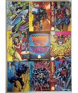 1994 Marvel Universe Uncut 9 card sheet Fleer VF - $14.69