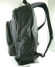 Marc Jacobs NWT $195 Shadow Grey Backpack Book Bag Medium Nylon Zip Around Logo image 3