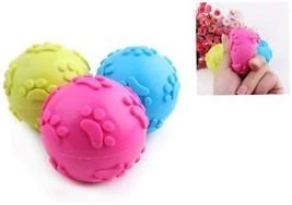 Blue Dog Ball,Linka Pet Toys,Dog Toy,Cat Ball Sound Dog Chew Toy Drain Food Pet - $16.99
