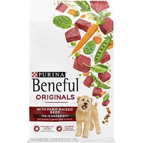 Primary image for Purina Beneful Real Meat Dry Dog Food, Originals With Farm-Raised Beef - 4 3.5 l