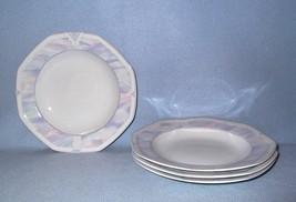 Savoir Vivre Celina Y0010 4 Soup Bowls Octagonal Pastel - $18.99