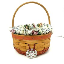 Longaberger  Natural  Mothers Day  Basket Numbered Signed Insert Include... - $30.39