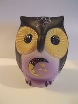 "Fenton Glass ""Nite Owl"" Half Moon Halloween Sitting Owl Figurine LE #4/1... - $183.82"