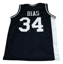 Len Bias #34 Northwestern Wildcats New Men Basketball Jersey Navy Blue Any Size image 4
