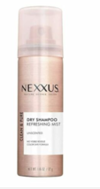 6 Pack Nexxus Travel Size DRY SHAMPOO Refreshing Mist  Unscented 1.16 Oz Each - $11.88