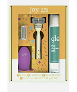 Joy & Glee Women's Razor Holiday Shave Care Gift Set - Yellow, 2 Refills... - $18.80