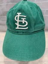 St Louis CARDINALS Baseball Green MLB Adjustable Youth Cap Hat - $9.89