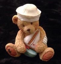 Cherished Teddies Jonathan Sail With Me Brother Bear Figurine 1992 - $9.40
