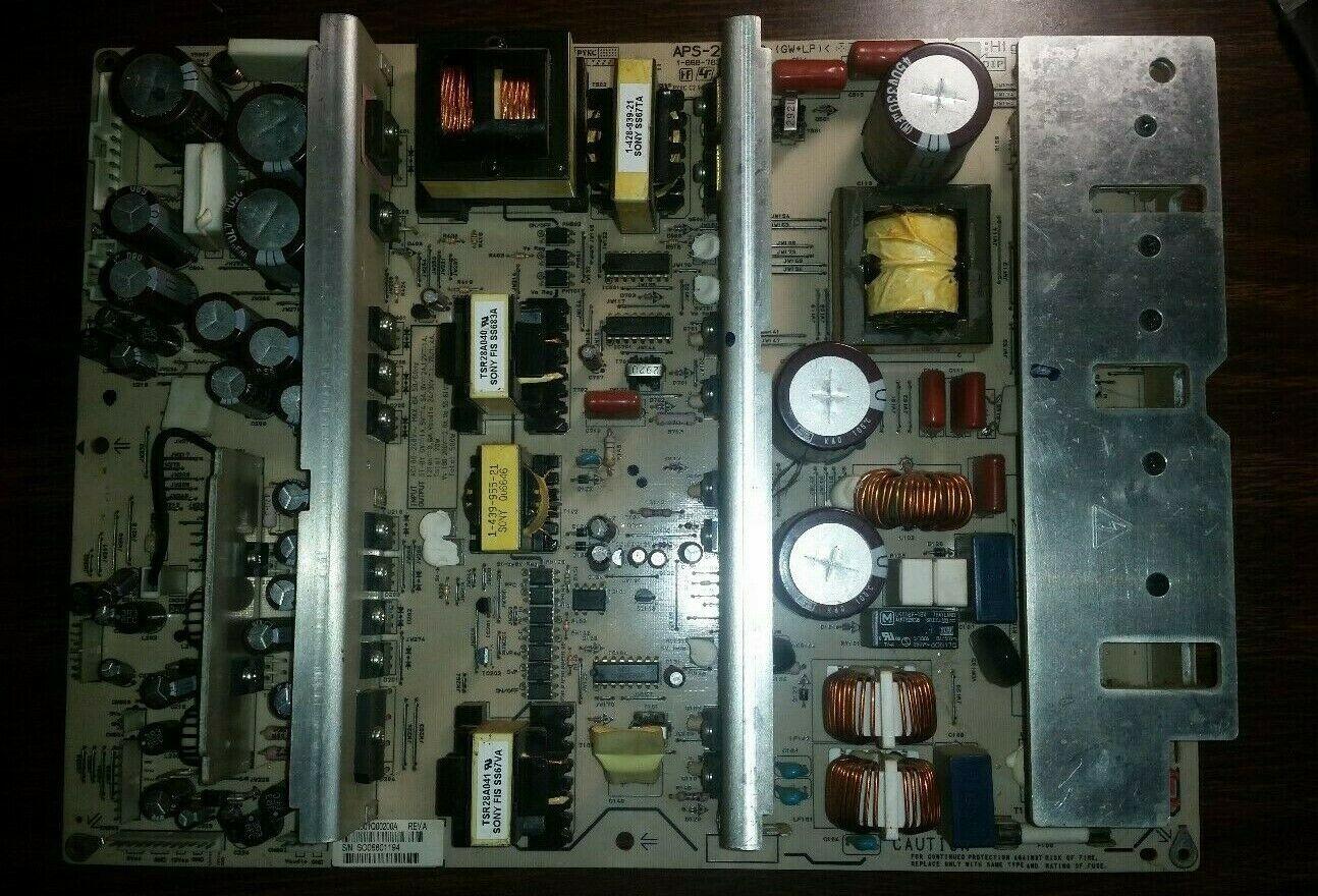 Toshiba 50HP66,HP PL5060N,PLX-5002B,Power Supply Board,#APS-219,1-868-783-12. - $38.92