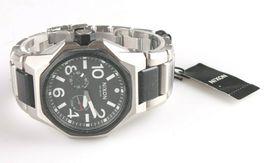 Nixon A397-000 El Tangent Negro y Plata Tono Acero Inoxidable Reloj Hombre image 5