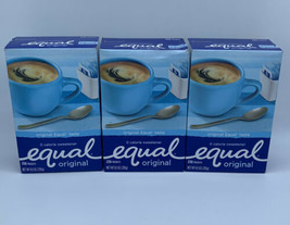 3 Equal Zero Calorie Sweetener 230 Packets Each - $21.77