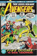 The Avengers Comic Book #101, Marvel Comics Group 1972 VERY FINE- - $24.11