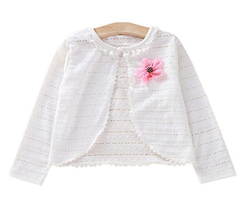 Children's Super Lightweight Shawl Kids Coat-Sun Protection White