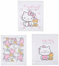 *Skater towel towel 3-Pack Hello Kitty pastel Sanrio OAC1T - $11.60