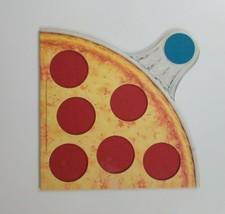 Pizza Party 1987 Parker Brothers Replacement Blue Board Piece  - $12.19