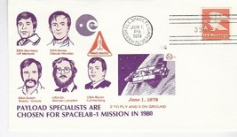 SPACELAB-1 MISSION PAYLOAD SPECIALISTS CHOSEN MARSHALL SPC FLT CTR, AL 6... - $1.98