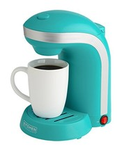 Kitchen Selectives Colors Single Serve Coffee Maker - Teal - $34.18