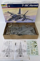 1998 REVELL MONOGRAM F-18C Hornet 1:48 Fighter Jet Airplane Model Kit #8... - $30.00