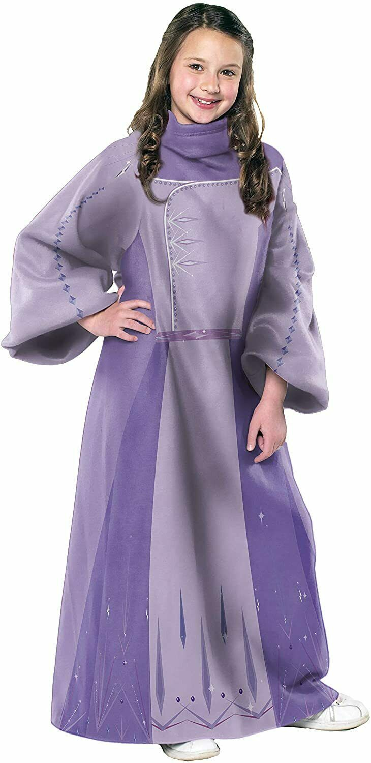 """Disney Frozen 2, """"First Act Elsa"""" Youth Soft Throw Blanket with Sleeves, 48"""" x48 - $29.99"""