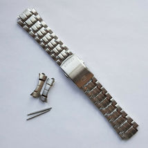 Genuine Replacement Watch Band 24mm Stainless Steel Bracelet Casio EF-32... - $49.60