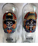 2 Jose Cuervo Tradicional Tequila 2019 Day of the Dead EMPTY Bottles Man... - $59.35