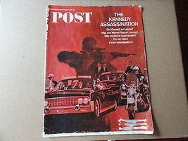 Saturday Evening Post Magazine January 14 1967 Complete Kennedy Assassin... - $7.99