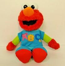 Sesame Street ABC Talking Elmo Plush Toy Learning Alphabet   - $19.79