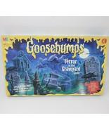 VINTAGE 1995 GOOSEBUMPS TERROR IN THE GRAVEYARD BOARD GAME MILTON BRADLE... - $70.18