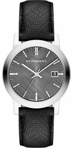 Burberry BU9030 Check Engraved Swiss Made Mens Watch - $367.17 CAD