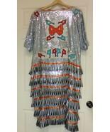 Native American Silver Sequin Jingle Dress Seminole Dance PowWow Regalia... - $225.00