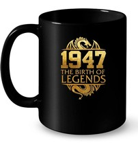 1947 The Birth Of Legends Vintage Classic 71 Yrs Years Old - $13.99+