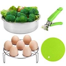 VERONES Pot Accessories, Steamer Basket Set for Pot Accessories with Egg... - $11.14