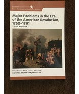 Major Problems in the Era of the American Revolution, 1760-1791 : Third ... - $74.25