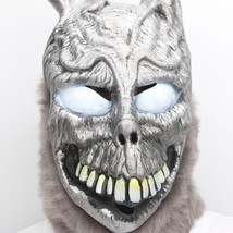 Donnie Darko Bunny Mask Rabbit Deluxe Frank Helmet with Fur Cosplay Acce... - $49.00 CAD