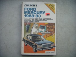 Ford, Mercury 1968-1983  Repair Manual, Service, Maintenance. Chilton Book. - $8.42