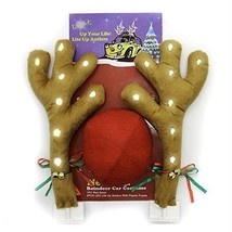 bouti1583 88025 LED Lighted Vehicle Car Decorations Reindeer Antler Cost... - $22.70