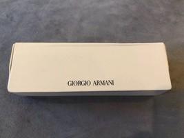Giorgio Armani Sunglasses Eyeglasses Beige Protective Hard Case Magnetic - $9.00