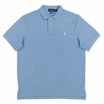 Polo Ralph Lauren Mens Classic Mesh Polo Shirt Soft Blue Heather S L XL XXL - $59.90