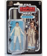 Star Wars 40th Anniversary Princess Leia Organa (Hoth) 6in figure Black ... - $22.99