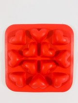 Silicone Heart Mold for crafting or baking 12 hearts per mold - $12.09
