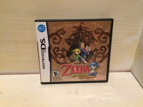 The Legend of Zelda: Phantom Hourglass (DS, 2007) CIB, Free Shipping